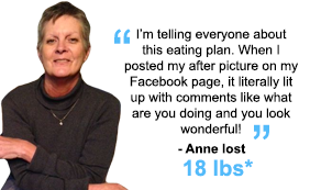 Anne lost 18 lbs!