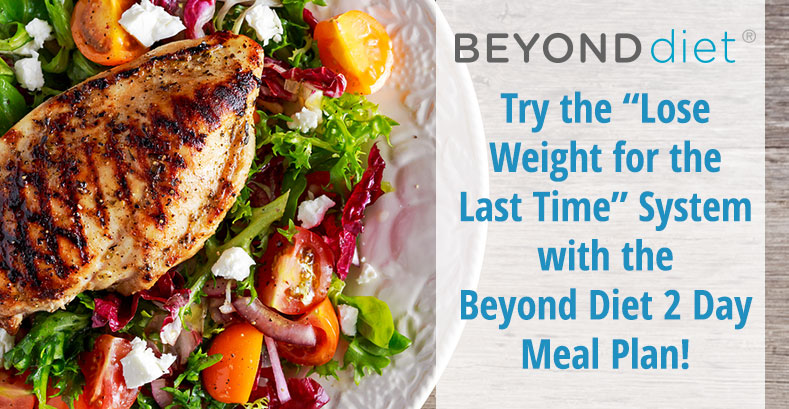 2 Days Of Meal Plans Beyond Diet